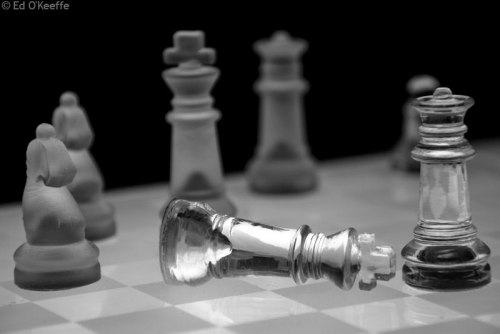 See cuz when the king dies it's the end of the game, you plebeian. Learn how Chess works!